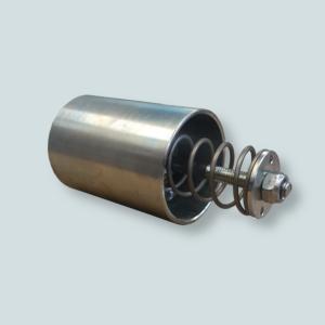 Zawór dosysający powietrze do instalacji eliminujący zaleganie pyłów w rurociągu.