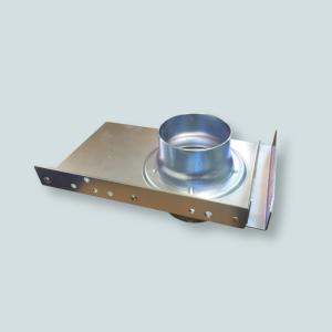 Ręczna zasuwa pozwalająca na odcinanie poszczególnych odcinków instalacji rurociągowej.