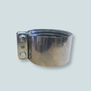 Obejma CV służąca do łączenia zaworów klapowych z instalacją centralnego odkurzania.
