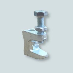 Imadełko M10 do montażu rurociągu do profili typu HEA i HEB