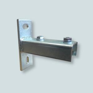 Stopa szyny pozwala na montaż szyny do ściany lub konstrukcji