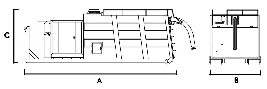 wymiary odkurzacza rorovac SEL Disab