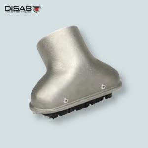 Ssawa siluminowa do odkurzania płaskich powierzchni wyposażona w szczotkę Disab