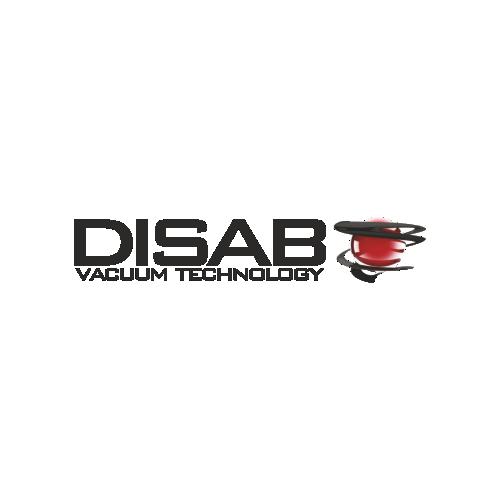 Disab logo szwedzkiego producenta odkurzaczy przemysłowych