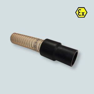 Końcówka wężą supervac do połączenia z akcesoriami i zaworami klapowymi