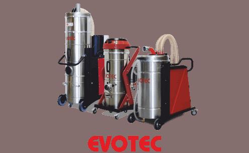 Mobilne odkurzacze przemysłowe firmy Evo-Products