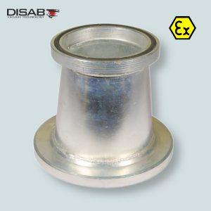 Redukcja do zmainy średnicy węża z końcówkami Disaflow firmy Disab