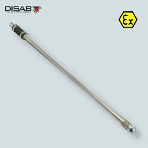 Rura teleskopowa do odkurzacza o średnicy 38 mm umożliwiająca czyszczenie na znacznej wyskości Disab