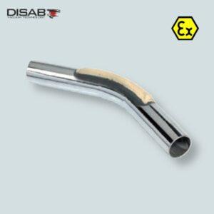 Przedłużenie prostej rury ssawnej ze wzmocnieniem firmy Disab